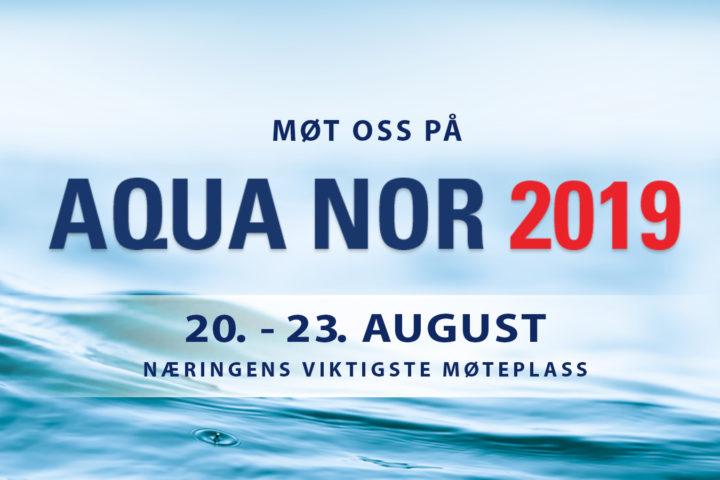 Møt oss på Aqua Nor 2019